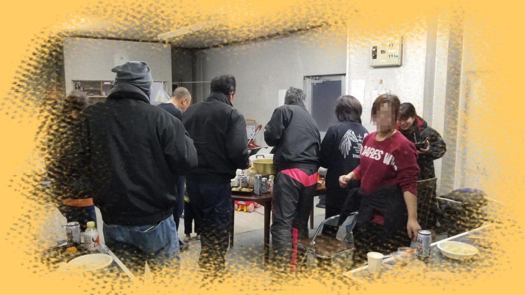 2018年大吉弁当 忘年会の一コマ①